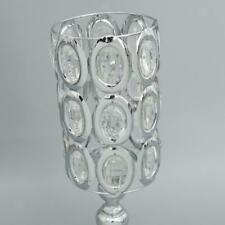 Crystal Tabletop Tealight Candlestick ~ Tea Light Candle or Votive Candle Holder
