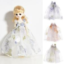 Pretty Dress For 1/6 12'' BJD Doll Blythe SD Neo Outfit Clothes Lace Tulle Accs