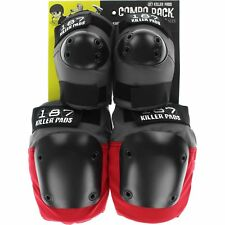 187 Combo Pack Knee/Elbow Pad Set XS-Grey/Red