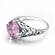 Authentic 925 Sterling Silver Rings Jewelry Pink Love Ring for Women Gift