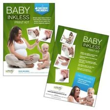 DELUXE Inkless Wipe Hand & Foot Print Kit - 3 Large Papers & 2 Wipes IDEAL GIFT