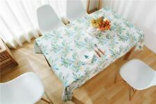 1pcs New Pattern Printed Cotton Material Tablecloth for Wedding Party Decoration