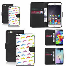 faux leather wallet case for many Mobile phones - multi tash