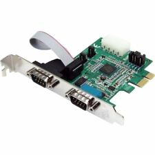 StarTech.com 2 Port Native PCI Express RS232 Serial Adapter Card with 16950 UART