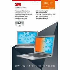"""3M Gold Privacy Filter for 13.3"""" Widescreen Laptop (16:10) Gold, Glossy, Black -"""