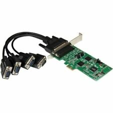 StarTech.com 4 Port PCI Express PCIe Serial Combo Card - 2 x RS232 2 x RS422 / R