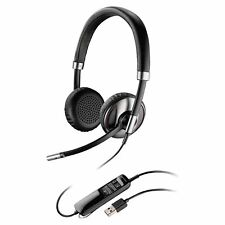 Plantronics Blackwire C520 Headset - Stereo - USB - Wired - Over-the-head - Bina