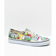 NEW! Vans x Peanuts Authentic Comics Skate Shoes Charlie Brown Snoopy Mens Women