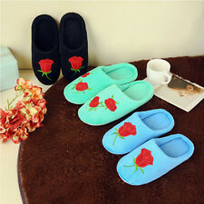 Women Men Winter Xmas Warm Antiskid Slippers Soft Plush Indoor Couple Home Shoes