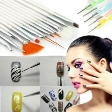 20 Pcs Nail Art Design Set Painting Dotting Drawing Polish Brush Pen Tools