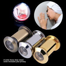 Door Viewer Peep Hole Peephole 220° Viewer with Cover Home Security Zinc Alloy