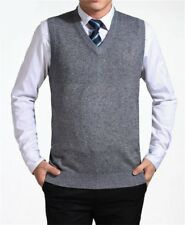 COODRONY 2017 New Arrival Solid Color Sweater Vest Men Cashmere Sweaters Wool Pu