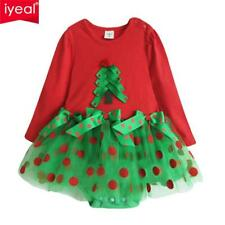 Christmas Baby Girl Rompers Princess Kids Newborn Clothes Autumn Clothing Set