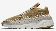 Nike AIR FOOTSCAPE WOVEN CHUKKA QS MEN'S SHOE Flat Gold-Size US 8, 8.5, 9 Or 9.5