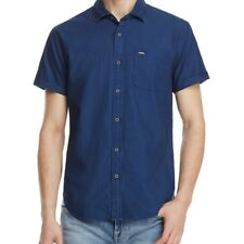 SCOTCH & SODA MENS DOTTED SLIM FIT BUTTON-DOWN SHIRT