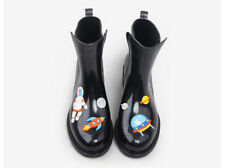 Rouroliu PVC Ankle  Cartoon Animals Rainboots  Woman Wellies TR114 choose sz/clr