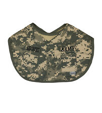 Infant Army Recruit Military Camouflage Printed Baby Bib - FREE SHIPPING