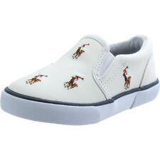 Polo Ralph Lauren Bal Harbour Repeat Multi Pony White Leather Baby
