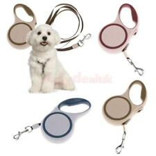 Pet Dog Lead Retractable Leash Flexible Walking Rope with Safe Lock Strong Cord