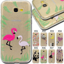 For Samsung Galaxy Glitter Skin Rubber Silicone TPU Clear Soft Case Back Cover
