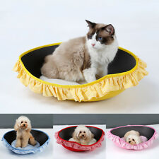 Dog Bed Kennel Medium Small Cat Pet Puppy Bed House Soft Warm Cushion Pad Mat