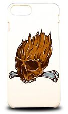 WOOD HEAD SKULL HARD CASE COVER FOR APPLE IPHONE 7 PLUS