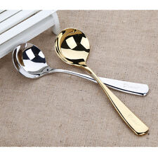 2 Colors Stainless Steel Ground Coffee Powder Scoop Kitchen Measuring Spoon