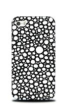 HAND DRAWN CIRCLE PATTERN 21 HARD CASE COVER FOR APPLE IPHONE 4 / 4S