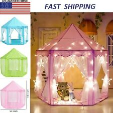 Playhouse Gift Portable Princess Castle Play Tent Activity Fairy House Fun Toy