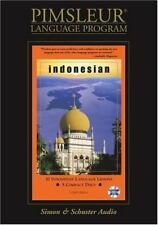 10 INDONESIAN LESSONS, 5 Compact Discs, Foreign Language Learning, Pimsleur, New