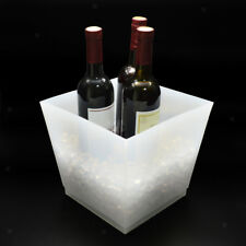 10L Trapezoidal LED Ice Cooler Bucket Party Bar Champagne Beer Wine Box