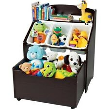 3-Tier Toy Organizer, Storage Unit with Rollout Toy Box Kids Bedroom