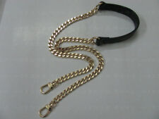 Chain & Real LEATHER Shoulder Crossbody Handbag Purse Strap Replacement SALE