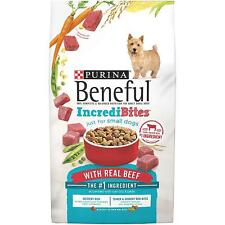 Purina Beneful IncrediBites For Small Dogs With Real Beef FREE SHIPPING Dog Food