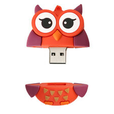 Soft Cool Owl Shape USB 2.0 Memory Stick Flash Pen Drive Cartoon U Disk
