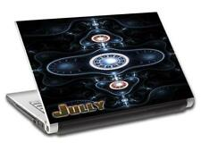 Abstract DJ Personalized LAPTOP Skin Decal Vinyl Sticker ANY NAME L546