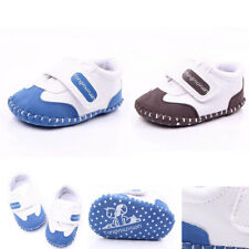 New Baby Infant Toddler Boy Girl Sneaker Soft Sole Shoe Size 0-1Y