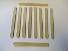 """Qty 1000 Wood Craft Popsicle Sticks 4 1/2 X 3/8"""" Great for Projects US"""