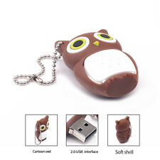 Brown Owl Model USB Flash Drive Memory Stick 4GB 16GB 32GB U-Disk USB2.0