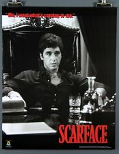 """Scarface """"Me, I want what's coming to me."""" New B/W 16 x 20 Inch Poster Al Pacino"""