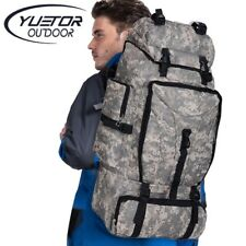 Camouflage Hiking Backpack Nylon Kit Travel Climbing Military Sport Camping Army