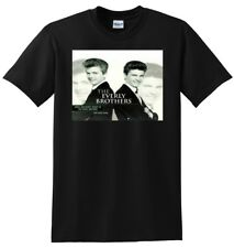 THE EVERLY BROTHERS T SHIRT vinyl poster cd SMALL MEDIUM LARGE or XL adult sizes