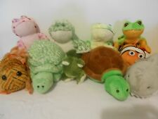 WEBKINZ LIL KINZ ORCA MANATEE FROG FISH TURTLE GECKO WITH CODES