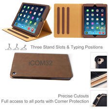"""Luxury Magnetic Leather Smart Case Cover For New Apple iPad 9.7"""" 5th Generation"""