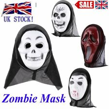 Adults Scream Ghost Face Mask  Dress Fancy Costume Halloween Party Dress