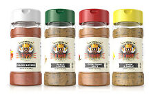 Flavor God Seasonings and Spices Suitable for Paleo Diet BBQ and Healthy Cooking