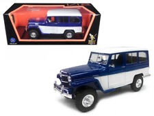 1955 Willys Jeep Station Wagon 1/18 Diecast Car Model