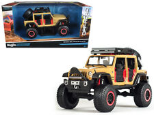 Maisto 2015 Jeep Wrangler Unlimited Off Road Kings 1/24 Diecast Car Model