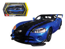 Bburago Dodge Viper SRT10 ACR BlueBlack 1/24 Diecast Car Model