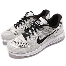 Wmns Nike Lunarglide 8 VIII White Black Womens Running Shoes Trainers 843726-101